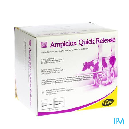 Ampiclox Quick Release Applic. 24