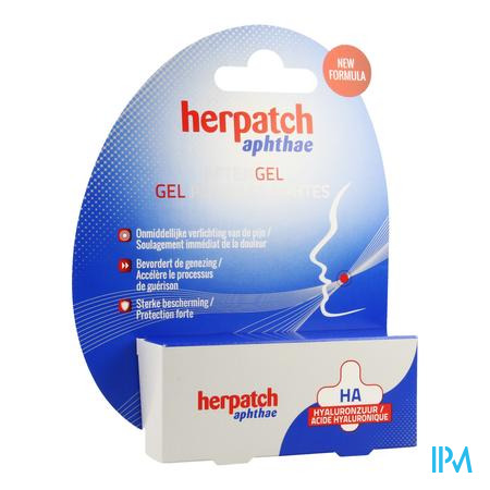 Herpatch Aftengel Tube 10ml
