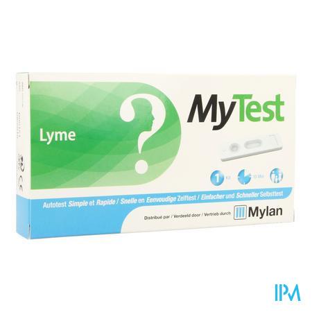 Afbeelding My Test Snelle en Eenvoudige Zelftest voor Lyme 1 Kit.