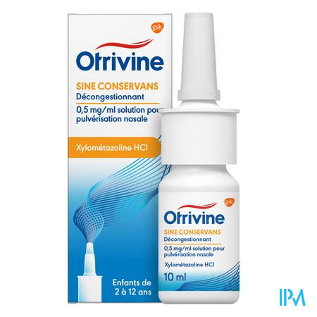 Otrivine Sine Conserv. 0,05% Spray 10 ml