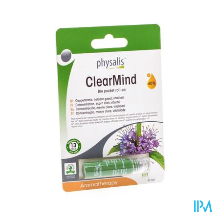 Physalis Roll-on Clearmind Bio 4ml
