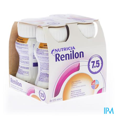 Renilon 7.5 Caramel Bouteille 4x125ml 570978