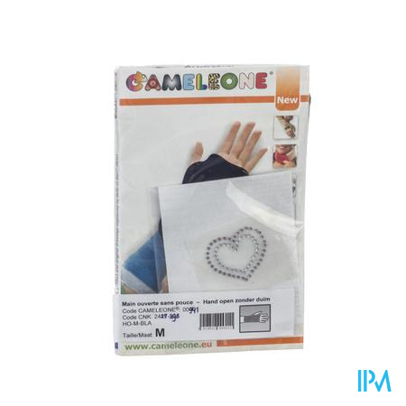 Cameleone Main Ouvert Pouce Coeurs M 1 pièce