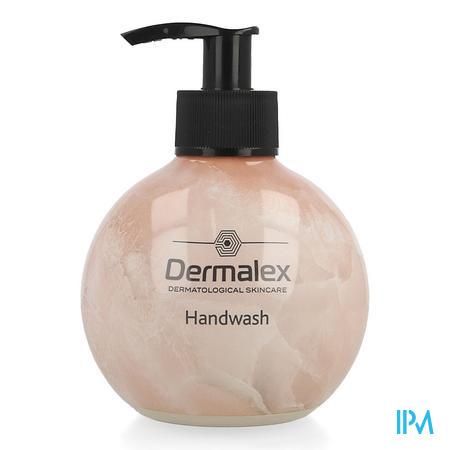 Afbeelding Dermalex Handwash Pink Marble Pompflacon 295 ml.