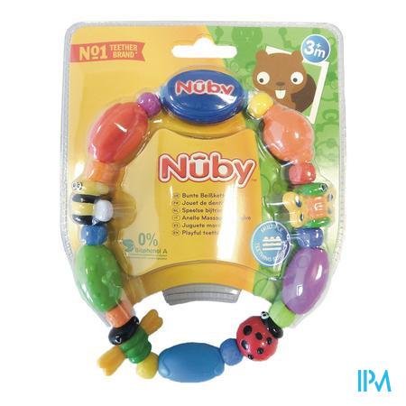 Nuby Speelse bijtketting Bug-a-Loop™ - 3m+