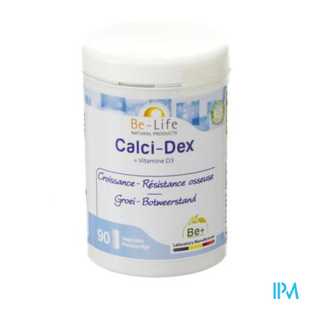 Calci-dex Minerals Be Life Nf Gel 90