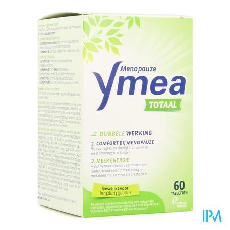 Afbeelding Ymea Totaal Menopauze voor Comfort bij Menopauze en Meer Energie 60 Tabletten.