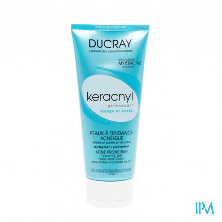 Ducray Keracnyl Gel Moussant 200 ml