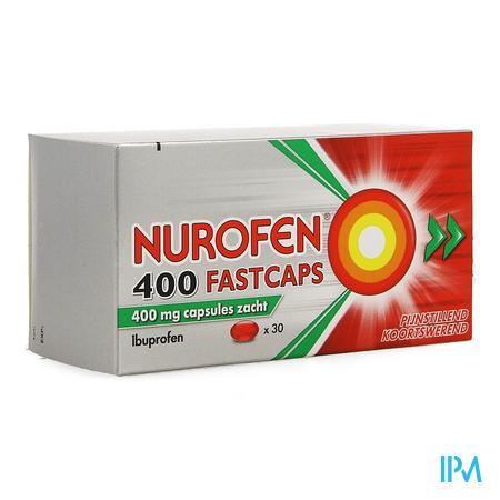 Nurofen 400 FastCapsule Capsule 30 X 400 mg