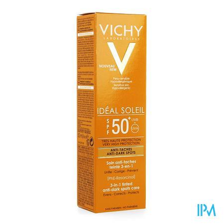Vichy Cap Id Sol Ip50+ Cr A/pigmentvlek 3in1 50ml