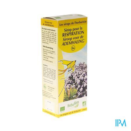 Herbalgem Ademhaling Bio 250 ml siroop
