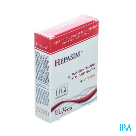 Similia Hepasim 30 tabletten