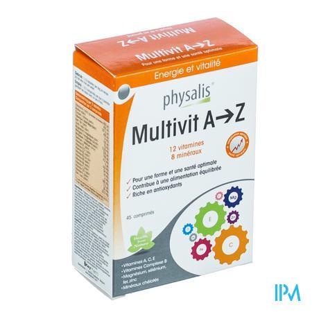 Multivit AZ 45 comprimés