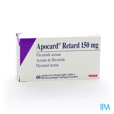 Apocard Retard Caps 60 X 150mg