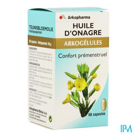 Arkogélules l'Huie d'Onagre 60 capsules