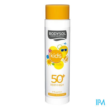 BODYSOL KIDS SUNMILK IP50+ 150ML NEW