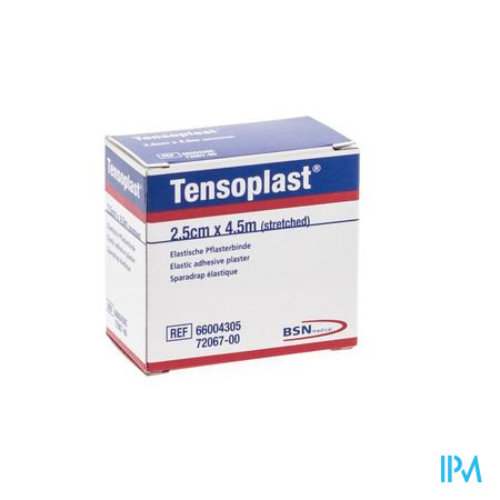 Tensoplast Pleister 2,5cmx4,5m 1 7206700