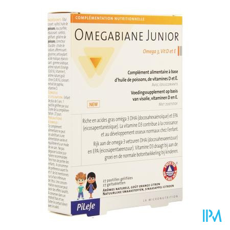 Omegabiane Junior Pastille 27  -  Pileje