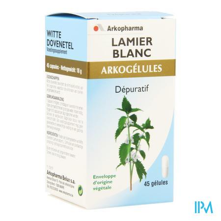 Arkogelules Lamier Blanc Vegetal 45