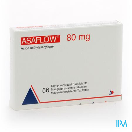 ASAFLOW NYCOMED 80 MG FILMOMH TABL 56 X 80 MG