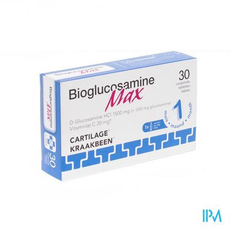 BioGlucosamine Max 1500mg 30 comprimés