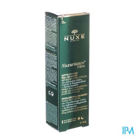 Afbeelding Nuxe Nuxuriance Ultra Totaal Anti-Ageing Opvullend Roll-on Masker voor Alle Huidtypes 50 ml.