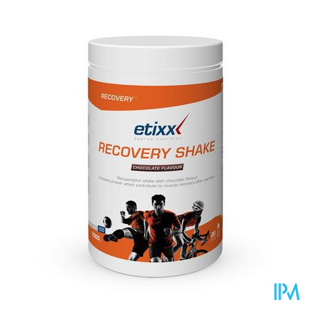 Afbeelding Etixx Recovery Shake met Chocoladesmaak 1 kg.