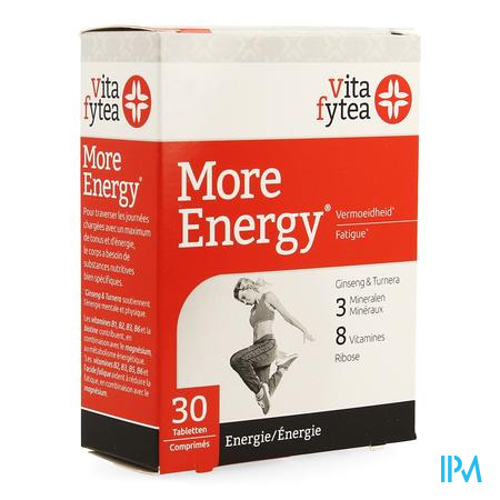 Vitafytea More Energy 30 tabletten