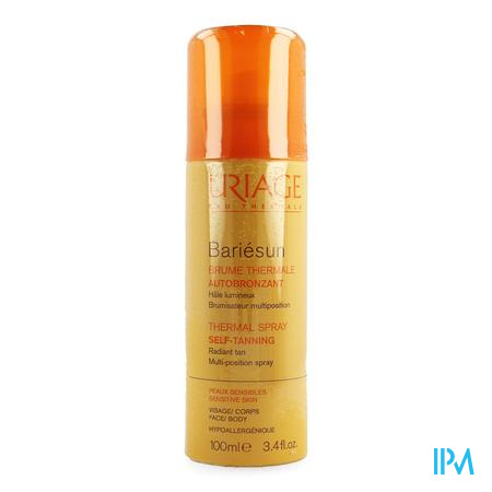 Uriage Bariesun Nevel Thermale Zelfbruiner 100ml