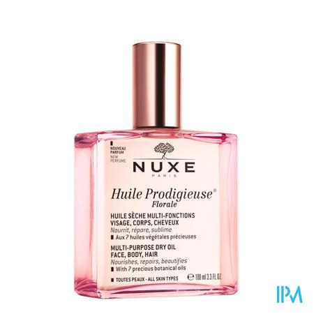 Afbeelding Nuxe Huile Prodigieuse Florale Multifunctionele Droge Olie voor Gelaat, Lichaam en Haar voor Alle Huidtypes met Frisse en Delicate Bloemengeur Sprayflacon 100 ml .