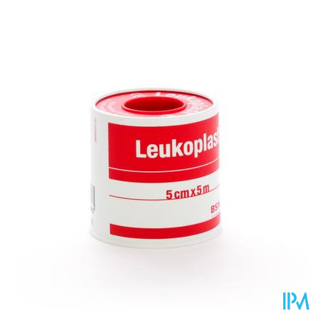 Leukoplast Fourreau Sparadrap 5,00Cmx5m 1 pièce