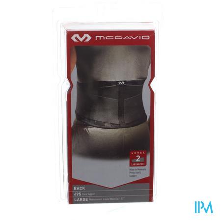 McDavid Lightweight Back Support Zwart Maat L 1 stuk
