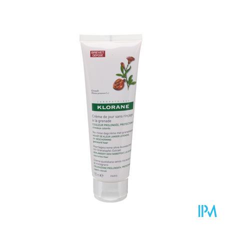 Klorane Dagcreme Zonder Spoeling Granaatappel 125 ml