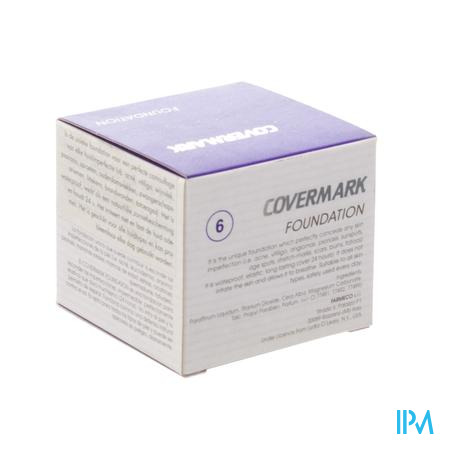 Covermark Foundation 6 30 ml