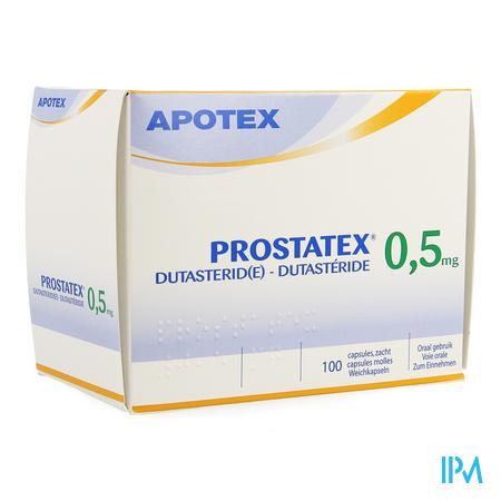Prostatex 0,5mg Zachte Caps 100