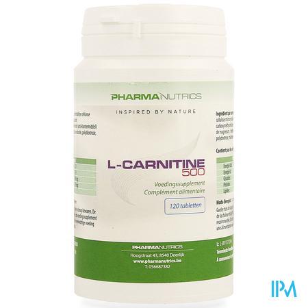 l Carnitine 500 Comp 120 Pharmanutrics