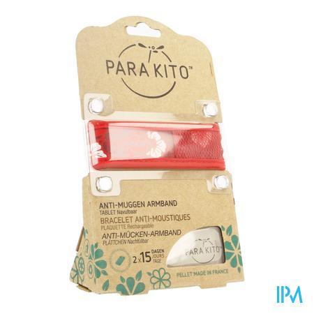 Para'kito Wristband Graffic Jun&trop Hawai Red