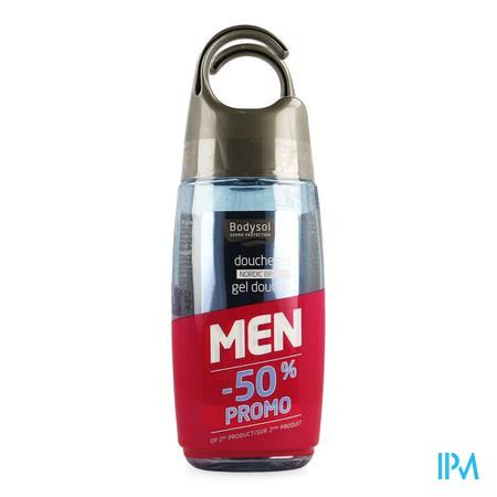 Bodysol Men Pr Douchegel Nordic 250ml 2e -50%