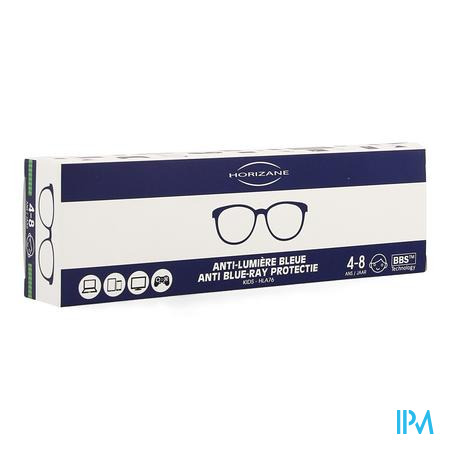Optique Bril A/blauw Licht Kids 4-8j Horizane