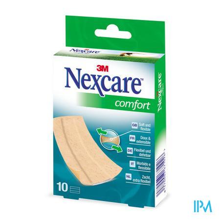 Nexcare 3m Comfort Strips 10cm 10 N1170b