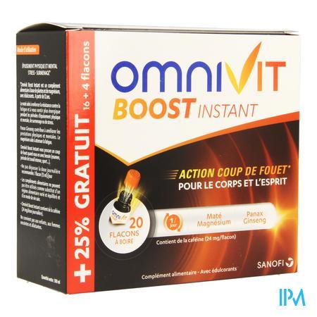 Omnivit Boost Instant Fl 20x15ml