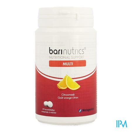 Barinutrics Multi Citrus Kauwtabl 30 Nf