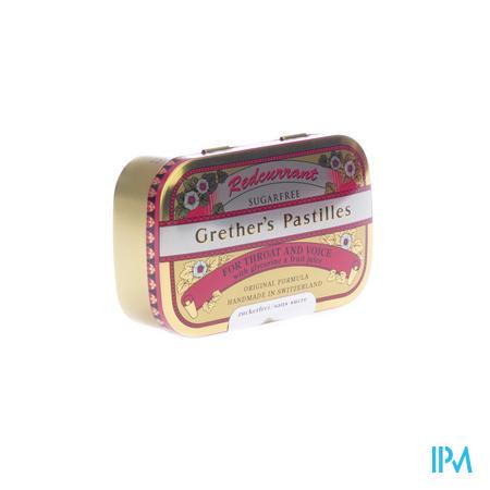 Redcurrant Grethers Sugarless Vit C 110g