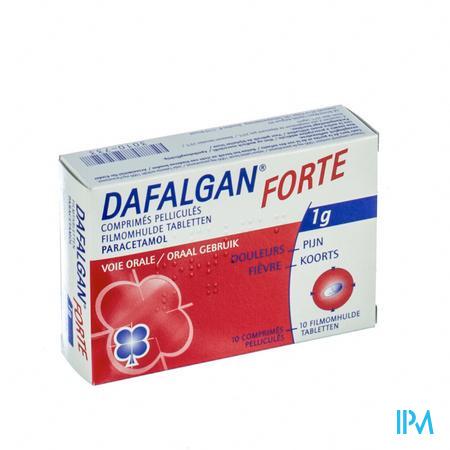Dafalgan Forte Comp Pell 10 X 1000mg
