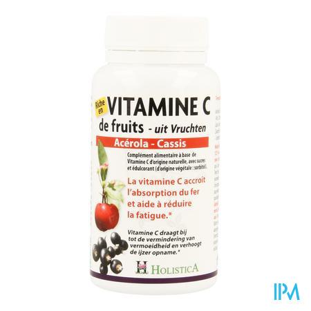 Vitamine C Acerola-cassis Comp 60 Holistica