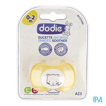 Dodie Fopspeen 0-2m Geboorte Mix A23