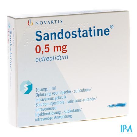 Sandostatine Amp S.c. 10x0,5mg/ml