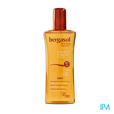 Bergasol Droge Olie SPF 10 125 ml spray