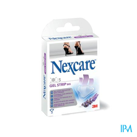 Nexcare 3m Gel Strips Lavande Large 5