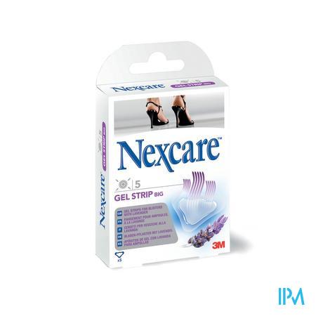 Nexcare Gelstrips Lavendel Big Large 5stuks